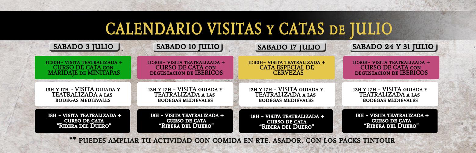 Visitas y Catas