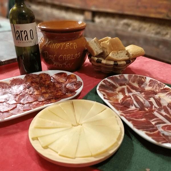 Curso de Cata de Vinos con Degustación de Ibéricos